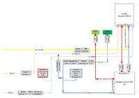 Schemat CO i CWO - Schemat do oceny oraz pytania o poradę w instalacji