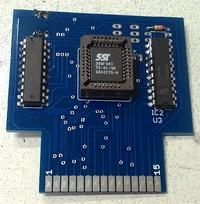Cartridge z grami do Atari 65XE/130XE/800XE/XL wersja PLCC