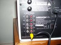 Medion 5.1 podłączenie pod laptopa