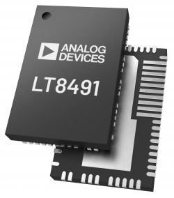 Analog Devices prezentuje 80-V kontolery Buck-Boost do ładowarek akumulatorów