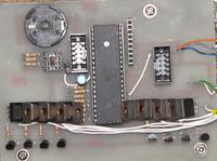 Matryca LED -snake, zegar, data, 3 x DS18B20 [ATMEGA32] [Bluetooth] -konkurs