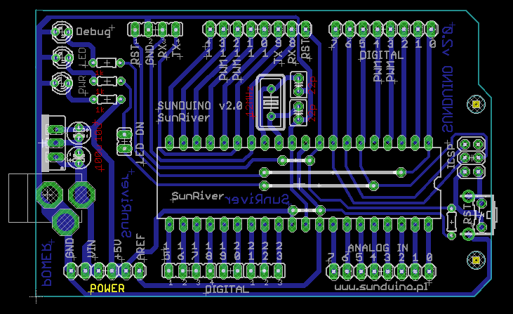 Arduino atmega16 своими руками