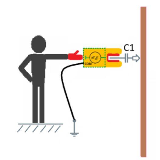 Nie można mierzyć napięcia bez kontaktu galwanicznego