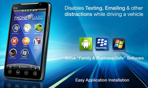 PhoneGuard zablokuje telefon podczas jazdy