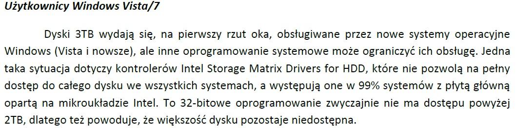 Utrata partycji na dysku USB 3TB