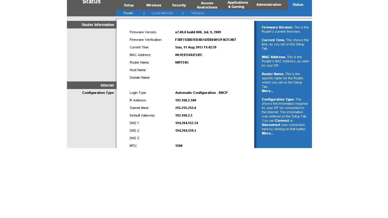 Linksys WRT54G + TP-LINK TL-WR543G brak ��czno�ci AP Bridge PTM