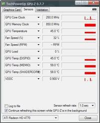 Asus ATI Radeon HD 4770  - b��d ati 2dvag