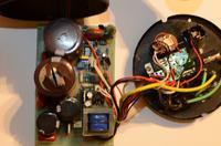 Lampa studyjna - lampa studyjna po wybuchu kondensatora