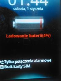 LG P920 - Brak ładowania baterii