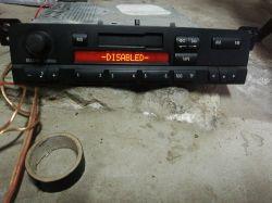 Radio od BMW E46 na kasety - Po podłączeniu wyświetla się napis disabled