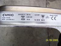 Zmywarka ARDO LS 9212 - szukam części!