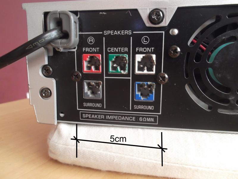 Yamaha DVR-S120 + YST-SW005 - jak pod��czy� ?