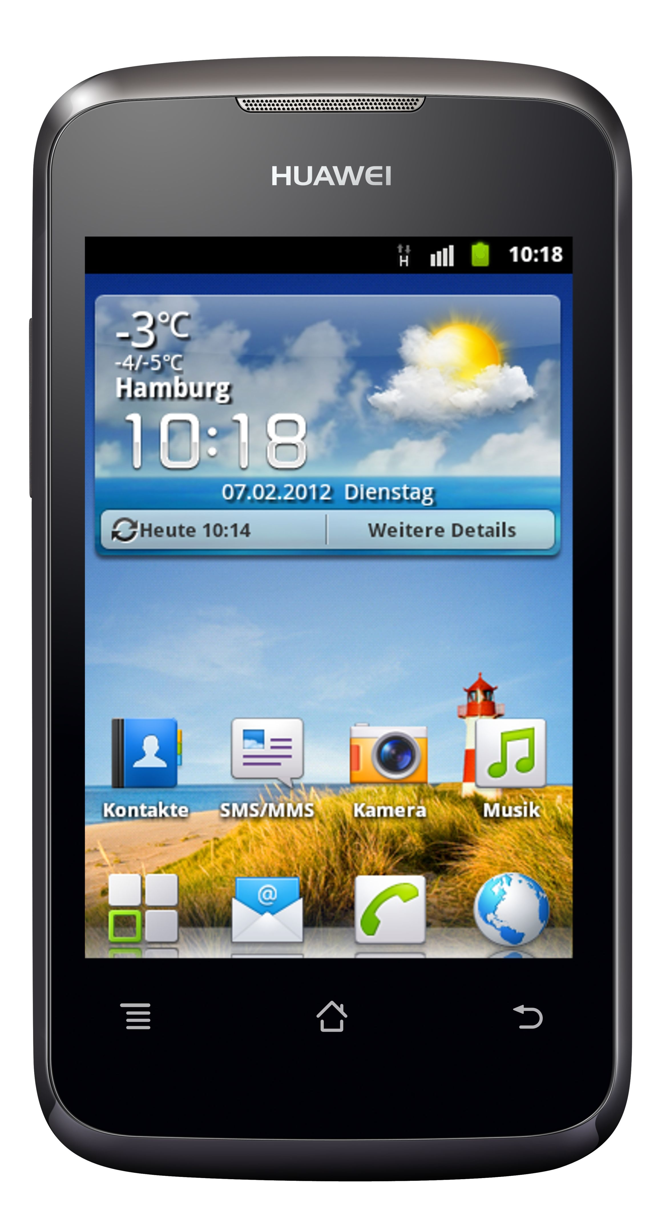 Huawei Ascend Y200 - nowy smartphone z 1 GHz, Android 2.3 za 100 euro