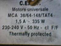 Sprzedam silnik pralki Polar PDT619 MCA 38/64-148/TAT4