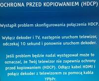 Podłączenie dekodera nc+ do monitora DVI - błąd HDCP
