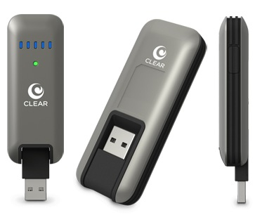 Clearwire CLEAR Stick Atlas USB 4G Modem - pierwszy modem sieci 4G na USB 2.0