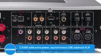 Wzmacniacz CXA60 - podłączenie do PC