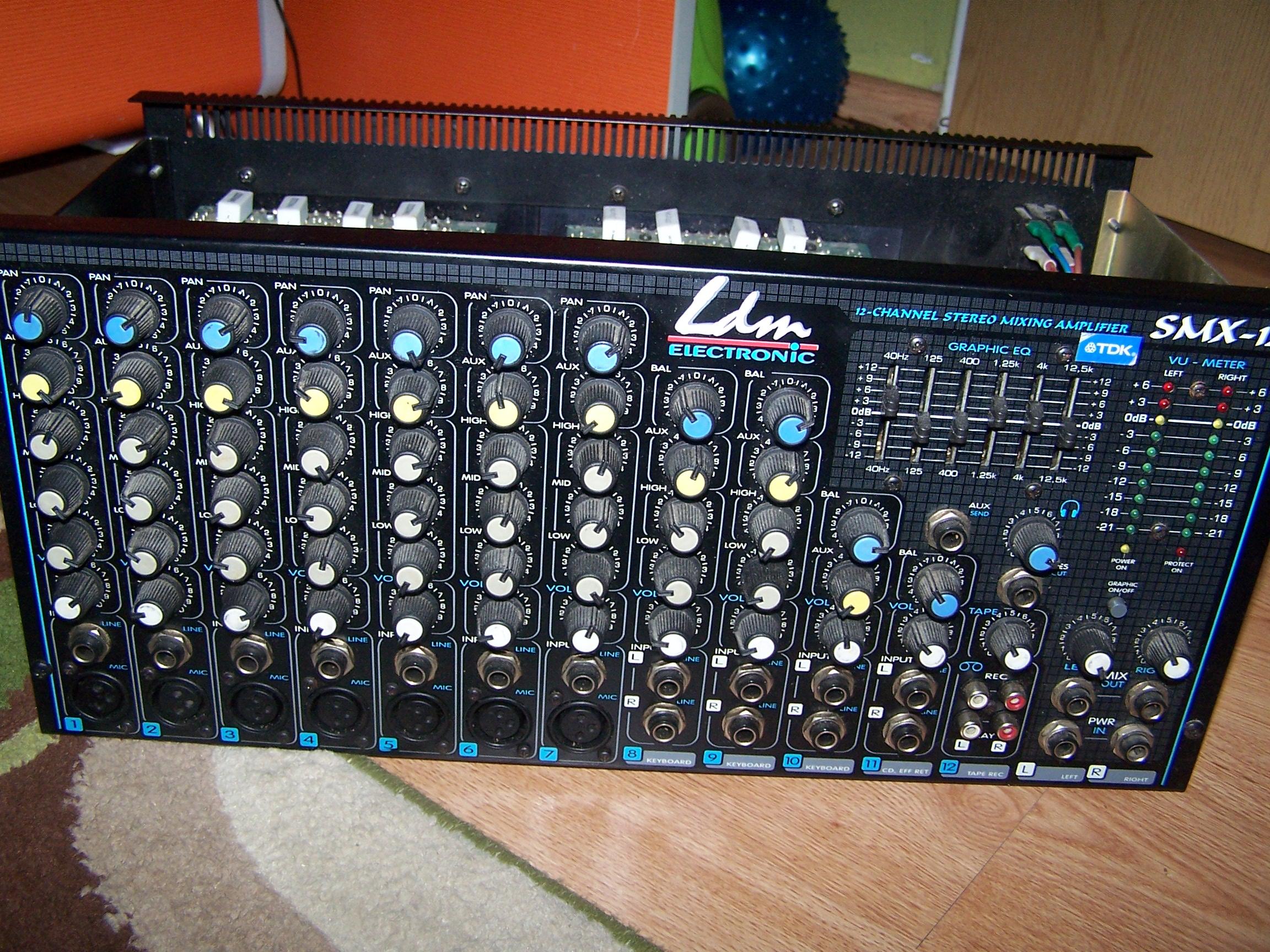 LDM SMX-12 2x250W Brak p�ytki zasilacza potrzebny schemat