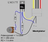 Prosty regulator obrotów silnika 2A jak wykonać?