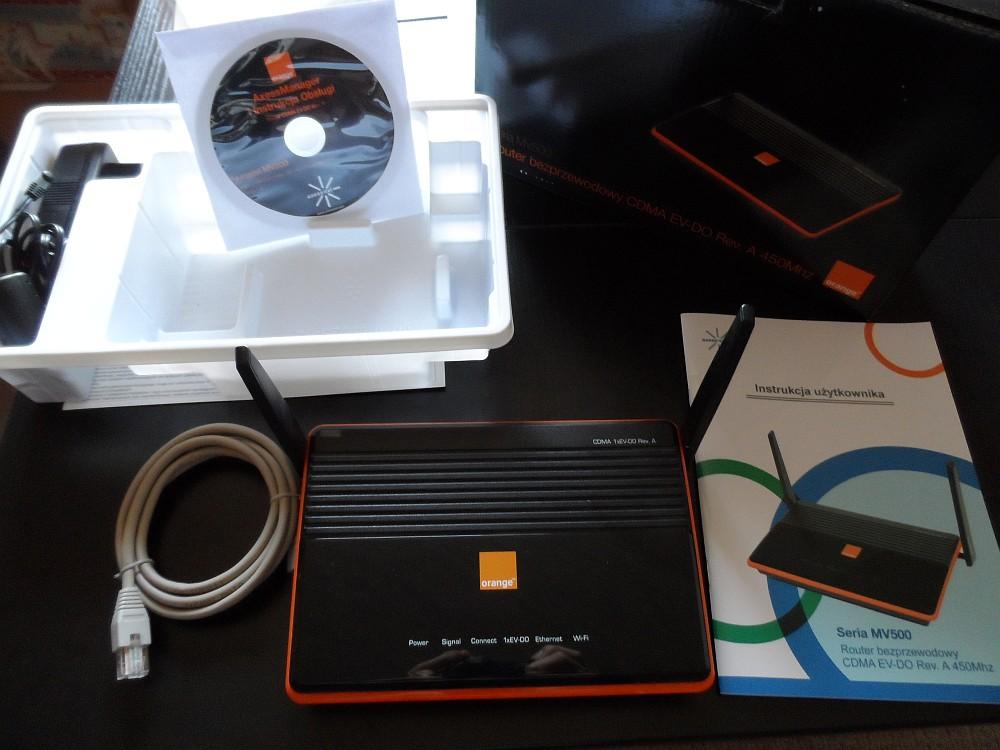 [Sprzedam] Router bezprzewodowy MV500 CDMA ORANGE MV 500 WIFI