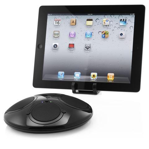 JBL On Tour iBT - kompaktowy zestaw głośnikowy Bluetooth dla iPada