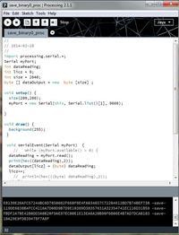 Arduino Uno R3 - Zapis bajtowy na dysk z pomoc� programu Processing 2.0
