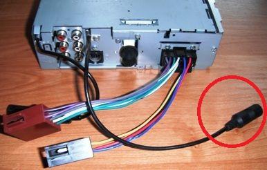 JVC KD-G722 od czego jest kabelek z tyłu radia.
