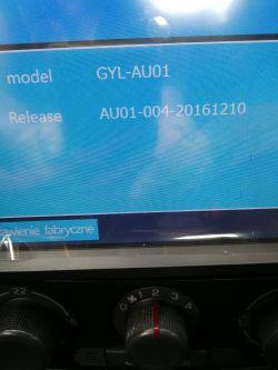 Radio 7020G 7cali 2DIN DVD GPS - orginalny soft.