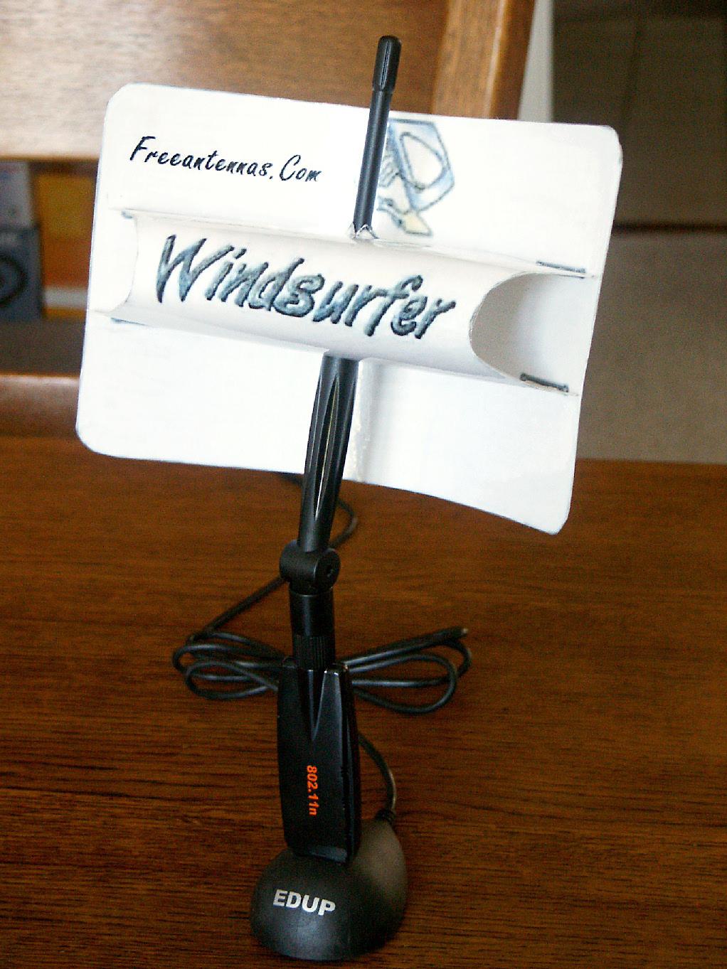 Antena wifi na wysi�gniku od anteny satelitarnej