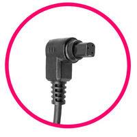 Canon EOS 5D - Wtyk wężyka spustowego - oznaczenie PIN-ów