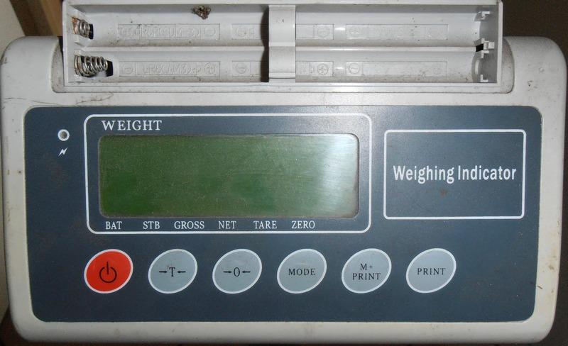 Waga 150kg - instrukcja kalibracji