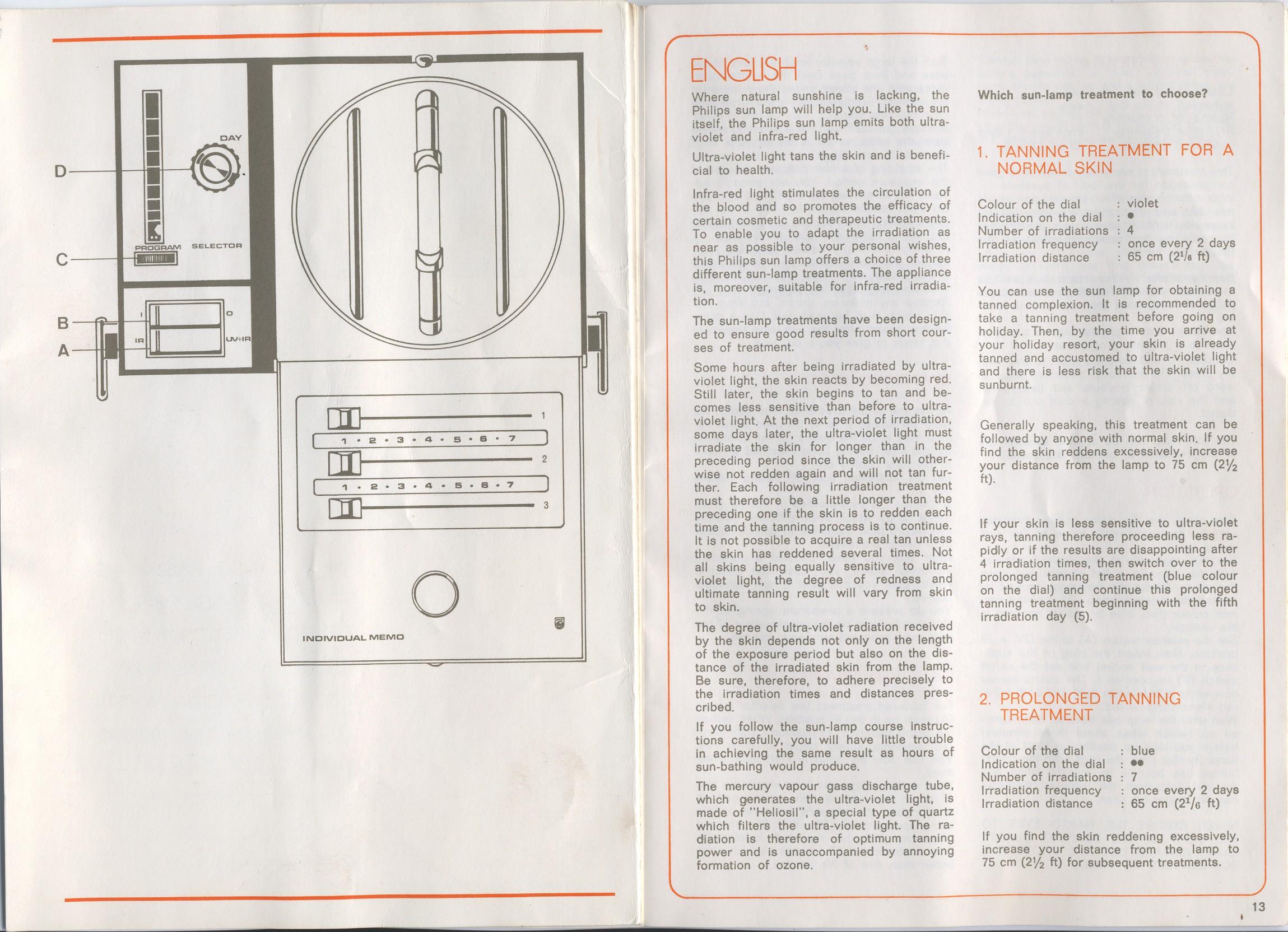 Szukam instrukcji obs�ugi do Lampy UV+IR Philips HP 3110