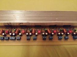 Końcówka Mocy na 5 x LM3886