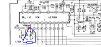 Kwarc DNT 4012 High Tec - Gdzie podpiąć dławik do kwarcu?