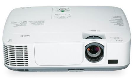 Przeno�ne projektory NEC M271X, M311X i M311W