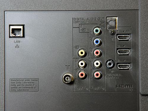 Połączenie Sony KDL40EX520 + Creative T5900