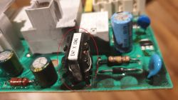 Electrolux EWM 2100 - Need to know what a component is on the EWM 2100 board