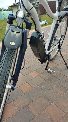 E-bike po mojemu w budowie