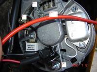 alternator c-360 jak podlonczyc