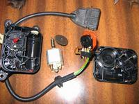 Potencjometr w klapie ciepło/zimno w nawiewie Audi 100 C4