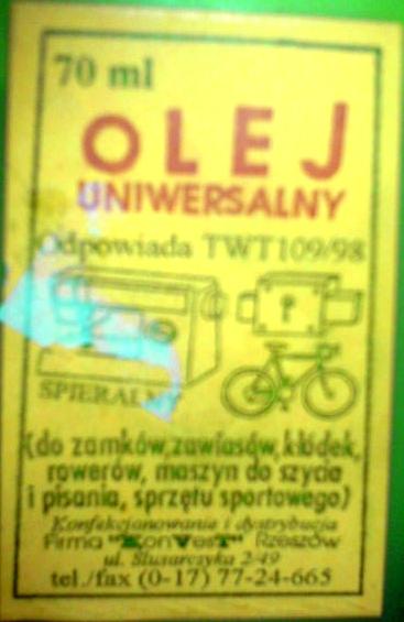 Olej do smarowania wentylatorów