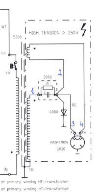 Mikrofala Whirlpool MD377 głośno buczy i nie grzeje