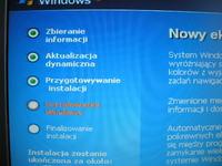 HP Compaq nx7000 dziwne znaki w biosie