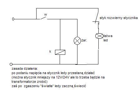 Jaki zastosować i jak podłączyć stycznik / przekaźnik ?