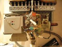 Gazowy grzejnik wody przepływowej WRP11 B23 S5395 niepodaje gazu