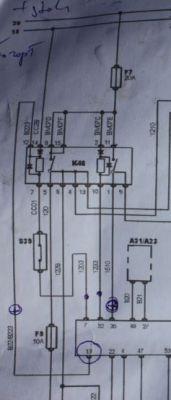 Citroen Xantia 1,8i 2000r - Nie odpala. Brak zasilania sterownika silnika.