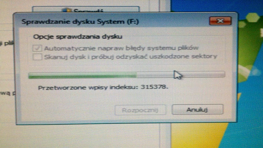 Windows 7 nie uruchamia si�