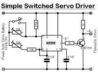 Sterowanie serwem NE555 -