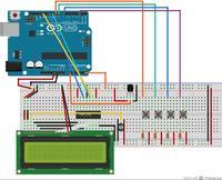Zegar + Termometr Arduino - delay()