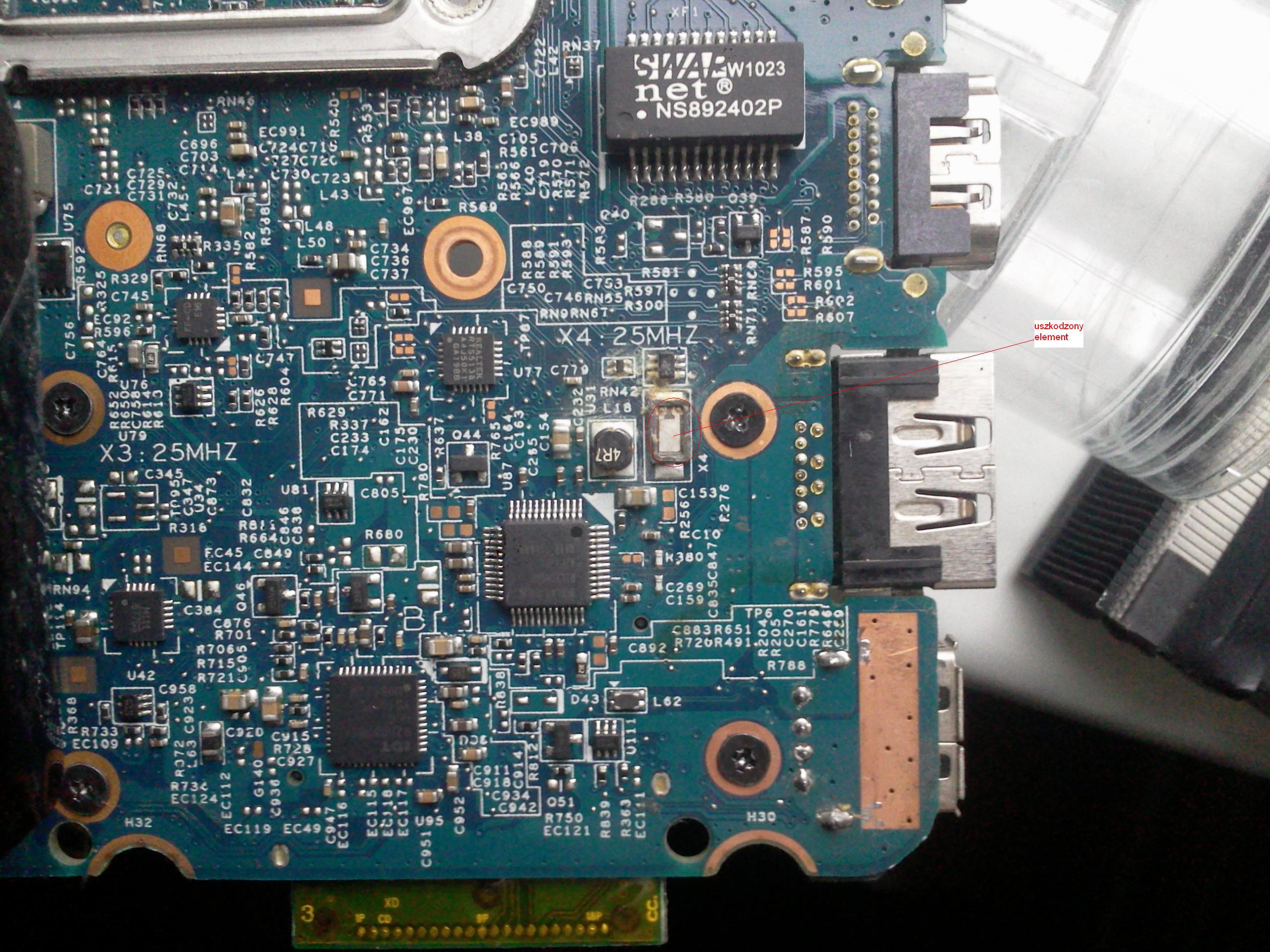Laptop hp probook 4520s nie uruchamia si�